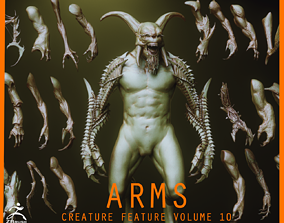 3D ARMS - 33 Creature arms Zbrush IMM
