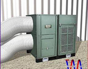 3D asset HVAC Air Rover Unit
