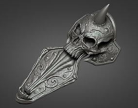Lich King armor - leg 2 3D print model