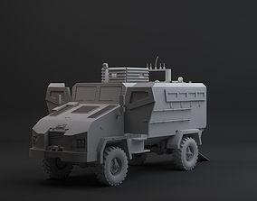 3D model realtime bmc kirpi mrap