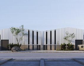 3D Industrial Building Pack