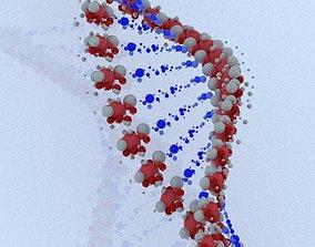 DNA model 3 3D