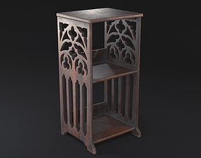 3D asset Gothic Side Table