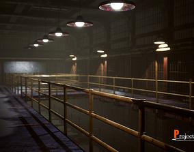 3D asset UE4 Prison Package V1- v002