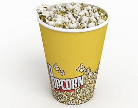 Popcorn Cup 3D model