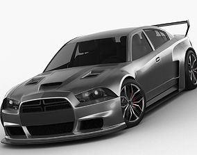 3D Dodge Charger 2012 Restyling