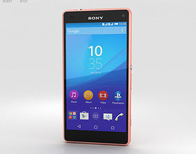 3D model Sony Xperia A4 SO-04G Pink