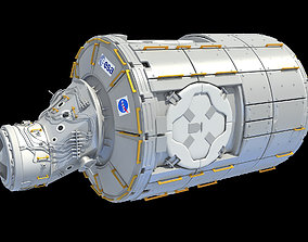 Tranquility Node 3 ISS Module 3D model