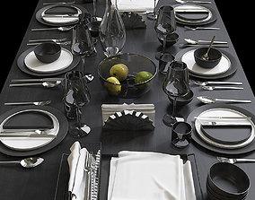 3D Table setting 9