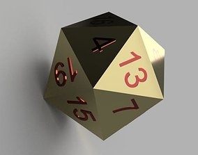 icosahedron 3D printable model