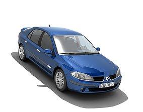 Renault Laguna II 2005 3D model