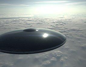 3D asset Alien Spaceship 2