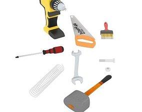 Tools 3D asset