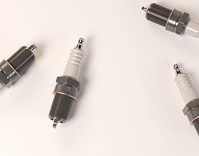 3D model Spark Plug
