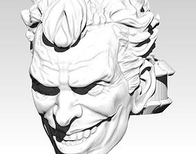 Crazy Joker Ring 3D print model