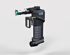 Tolian Soran Energy pistol from Star 3D printable model 2