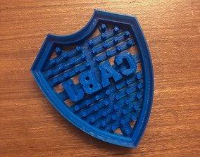 COOKIE CUTTER - CORTADOR DE GALLETAS BOCA 3D print model