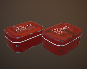 Medkit 3D model realtime