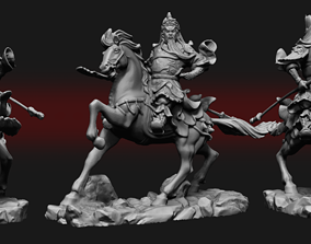 3D print model Statue Genghis Khan