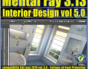 Mental ray in 3dsmax 2016 Vol 5 Interior Design Cd