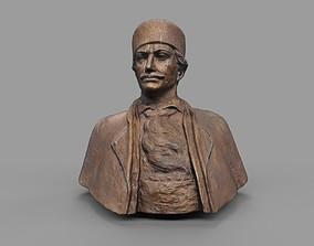 3D model Male Bust Statue