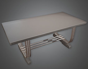 3D model Table 03 Art Deco - PBR Game Ready