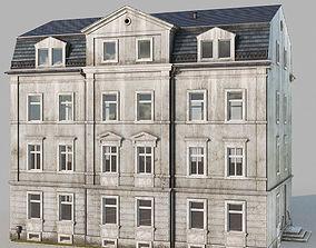 facade 3D model Classic building