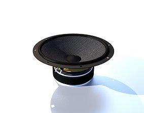 home 3D model Speaker Mid-Range