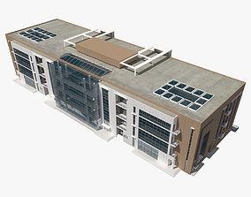 commercial Office Building 3D model