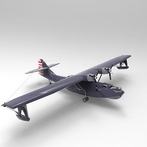 Consolidated PBY Catalina Airplane