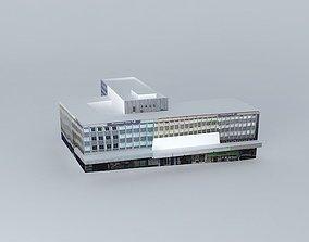 Premier Inn hotel 3D model