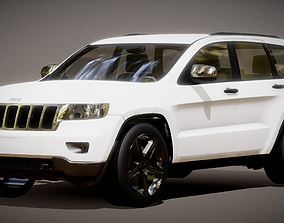game-ready Auto SUV Jeep Grand Cherokee 3D Model