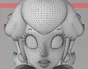 Princess Peach - HI RES 3D PRINT FILE 3D Printing