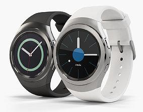 3D model Samsung Gear S2 smartwatch