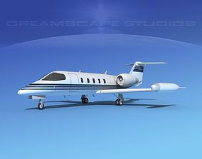 3D model Gates Learjet 35 V06