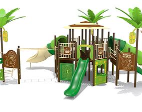 Monkey Playground 3D model