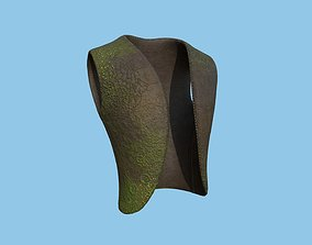 Flying Dutchman Crew Vest - Character Design 3D model