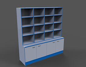 Office shelve 3D model