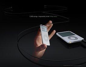 3D model Ipod Nano 2