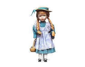 3D model Porcelain Doll - Ginger