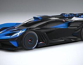Bugatti Bolide Concept 2020 3D