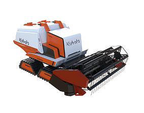 3D Seed Drill Tractor