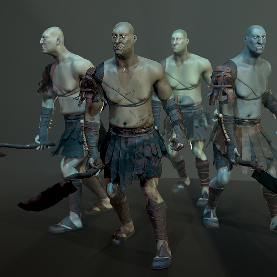 Game Ready Orc