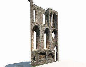 realtime Castle Ruin 4 Low Poly 3d Model