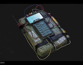 C4 Explosive Bomb 3D asset