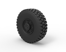 Offroad truck wheel 1 3D printable model