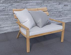 3D model Balam Lounge Chair