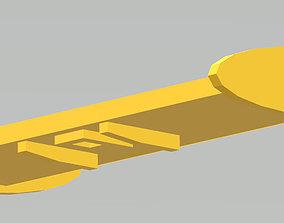 3D printable model ITES Lotus Remote Control Car Rear Wing