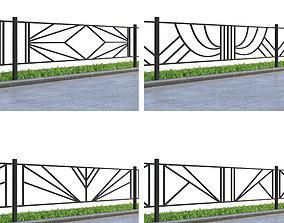 3D Lawn fences Part 1