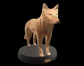 Parametric Fox 3D model